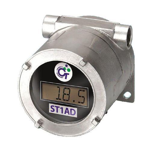 liquid level gauge / oil / ultrasonic / digital