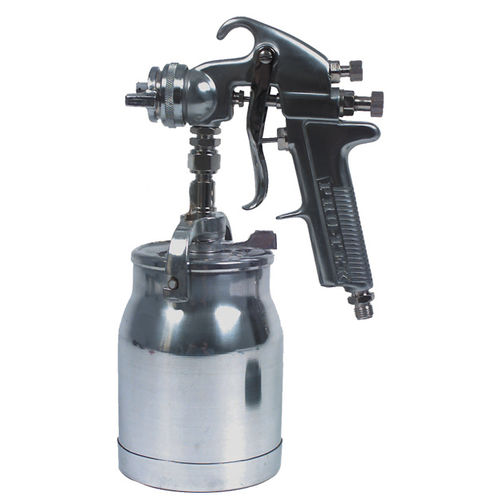 spraying gun / for paint / pneumatic / suction