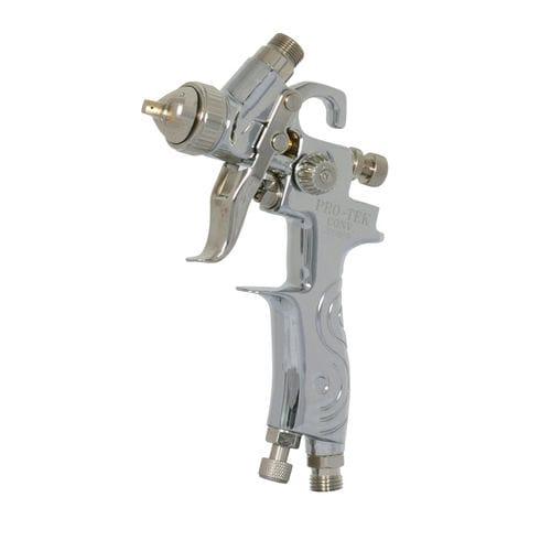 spraying gun / for paint / pneumatic / gravity feed