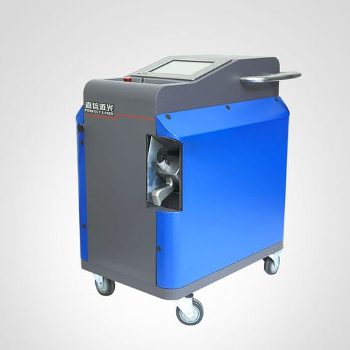 laser cleaning machine / semi-automatic / manual / for the automotive industry