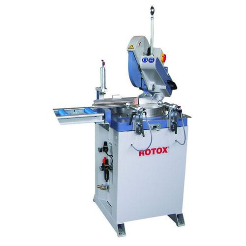 miter saw / for aluminum / for PVC / single-head