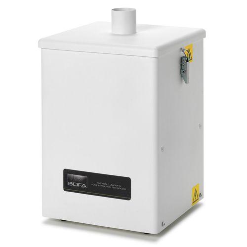floor-standing fume extractor