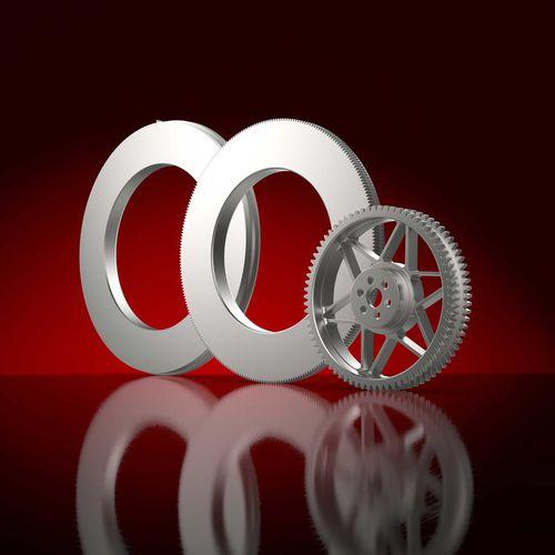 cylindrical gear wheel