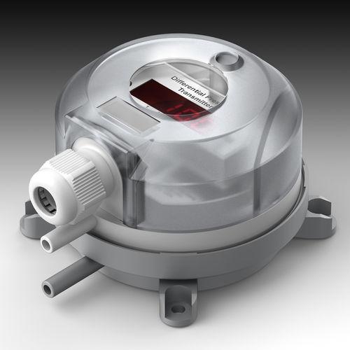 differential pressure transmitter / vacuum / piezoresistive / DC output