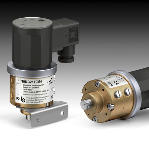 water pressure switch / differential / adjustable / IP65