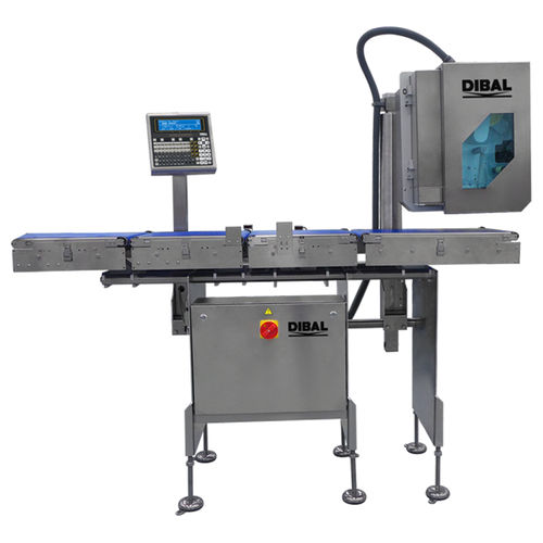 automatic labeler / for self-adhesive labels / for packaging / side