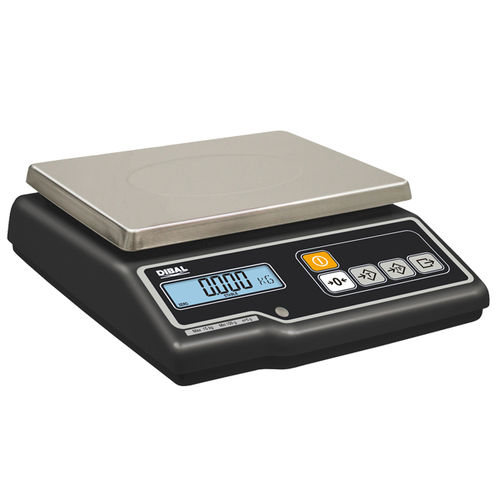 benchtop scale / retail / with LCD display / compact