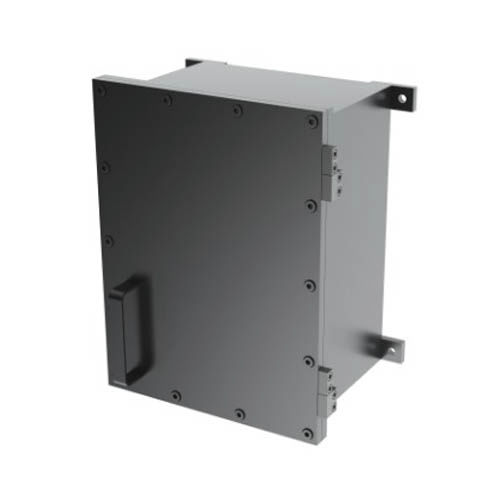 wall-mount casing / rectangular / stainless steel / explosion-proof