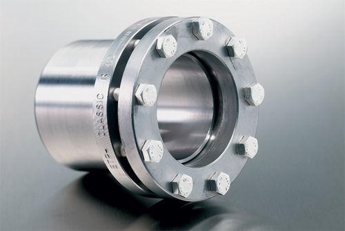 rigid coupling / for shafts / shaft-hub / flange