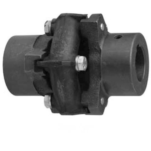 elastomer coupling / torsionally flexible / for shafts / misalignment correction