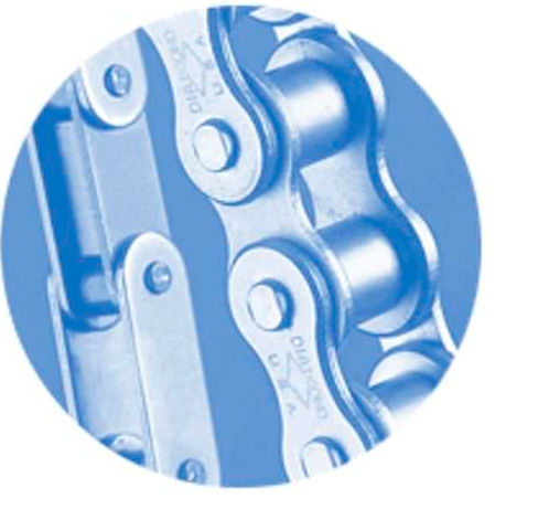 corrosion-proof chain / transmission / nickel-plated / roller