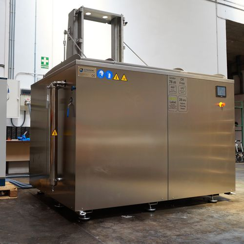 ultrasonic washing machine / automatic / for heavy-duty applications / robust