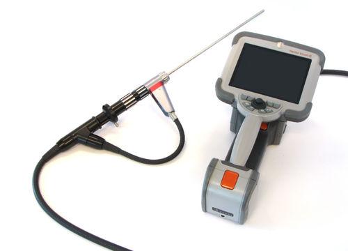 flexible borescope / portable / high-temperature