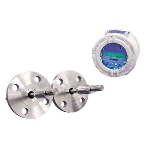 ultrasonic flow transmitter / digital / for liquids / gas