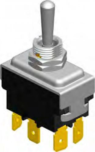 lever switch / bipolar / 3-pole / single-pole