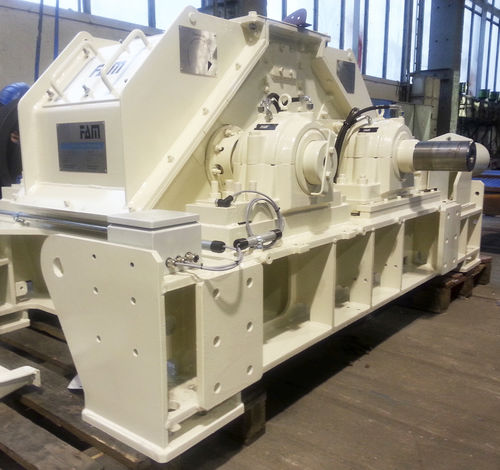 double-roller crusher / stationary