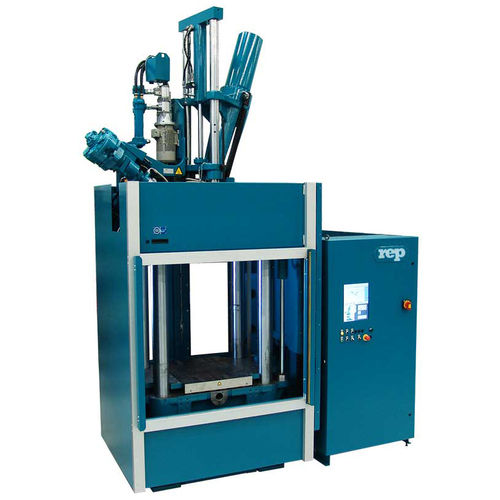 vertical injection molding machine - REP international