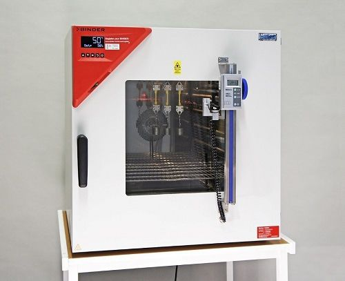 temperature test chamber / with window / stainless steel