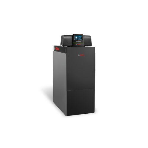hot water boiler / natural gas / compact