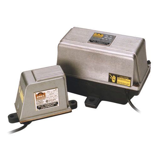 electromagnetic vibrator / for hoppers / external / portable