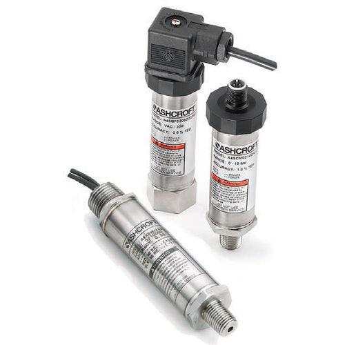 absolute pressure transmitter / membrane / threaded / stainless steel