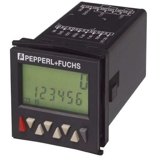 tachometer totalizer counter / digital / panel-mount