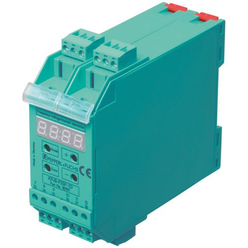voltage/current converter / frequency / DIN rail mounted