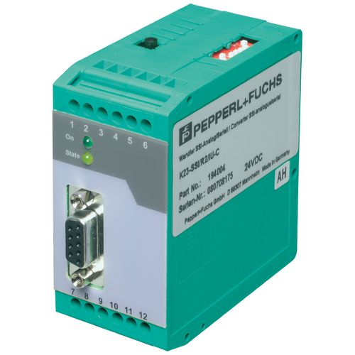SSI signal converter / DIN rail / for rotary encoders