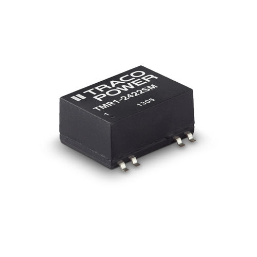 SMD DC/DC converter / SIP-6 / regulated / for telecommunications equipment