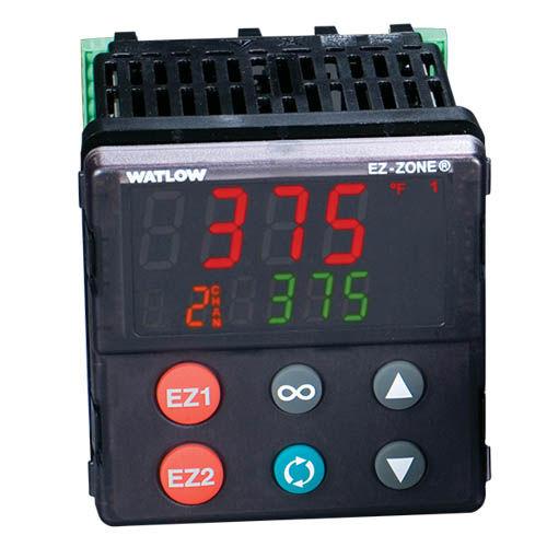 digital temperature controller / PID / panel-mount