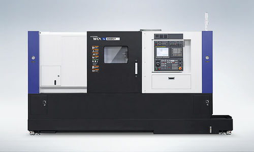 CNC turning center / multi-axis / cutting / high-precision