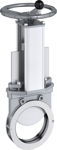 knife gate valve / pneumatically-operated / shut-off / sludge