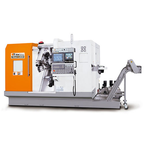 CNC milling-turning center / horizontal / 3-axis