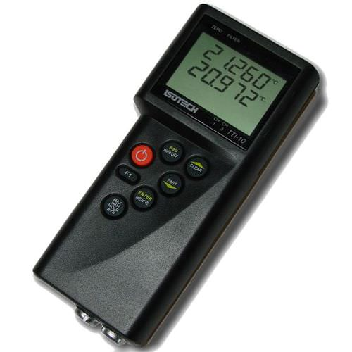 dual-channel thermometer