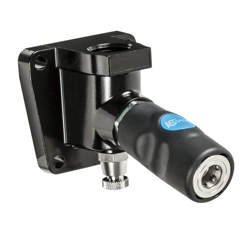 push-to-lock fitting / straight / pneumatic / security