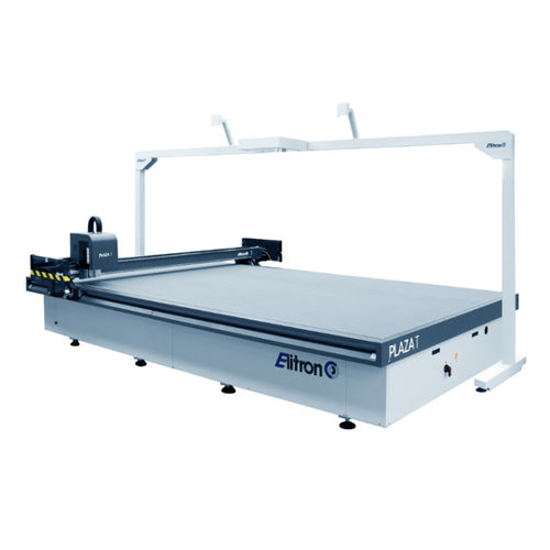 rubber cutting machine / foam / textile / for leather