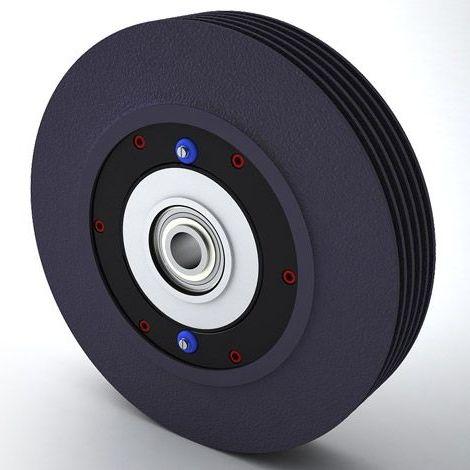 powder brake