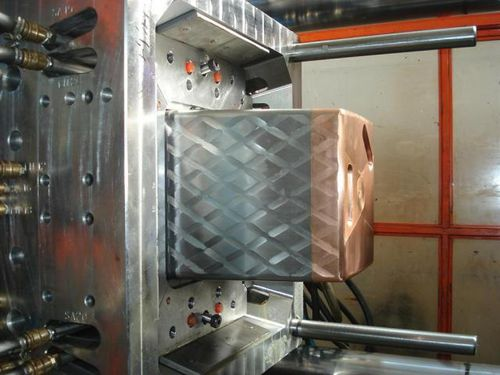 large series plastic injection mold / bi-material / technical parts / containers