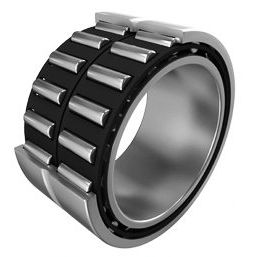 cylindrical roller bearing / radial / double-row / steel