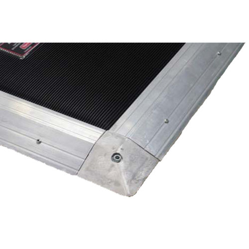 pressure-sensitive safety mat / aluminum / custom