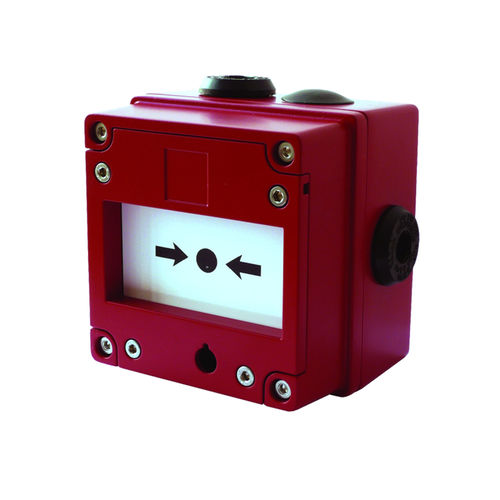 ATEX manual call point / for marine applications / with glass breaker