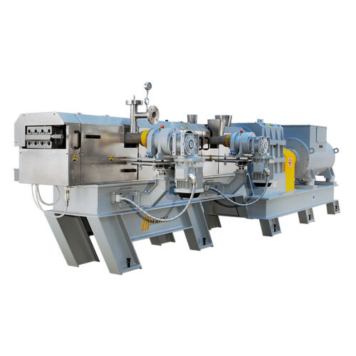 compounding extruder / co-rotating twin-screw