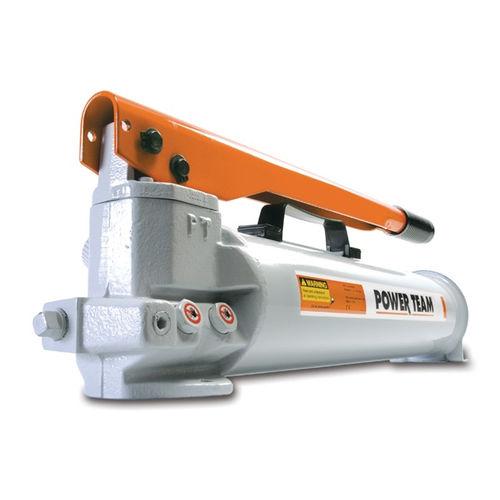 hydraulic piston pump / manual / rugged / heavy-duty