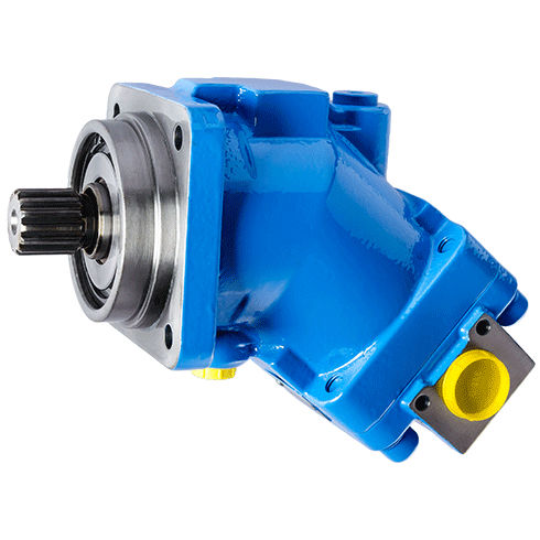 fixed-displacement hydraulic motor