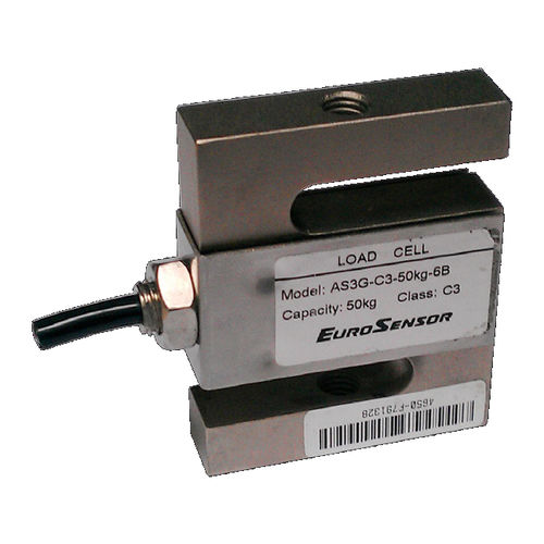 tension/compression load cell / S-beam / steel / IP67
