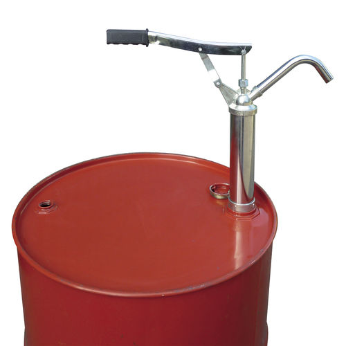 solvent pump / for chemicals / lever / piston