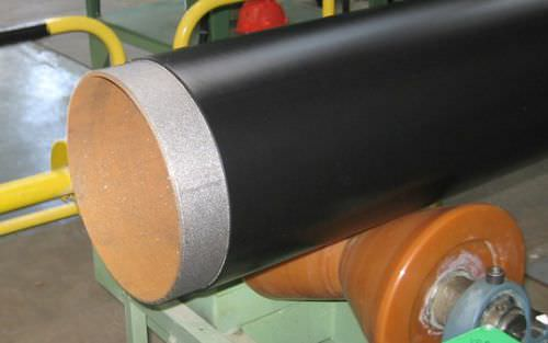 steel cutting machine / for tubes / manually-controlled / for PE coating on steel pipes