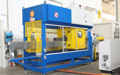 band saw / for PVC / for tubes / automatic