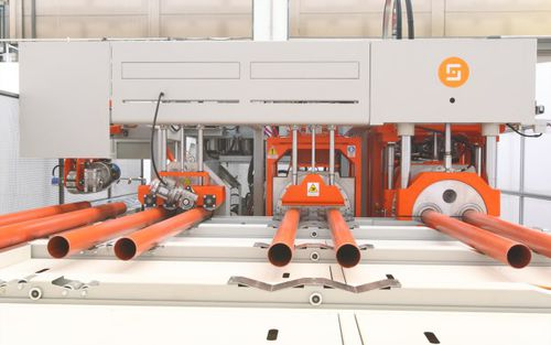 automatic belling machine / for PE pipes / for PP pipes
