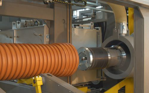 automatic belling machine / for PE pipes / for PP pipes / for corrugated pipe